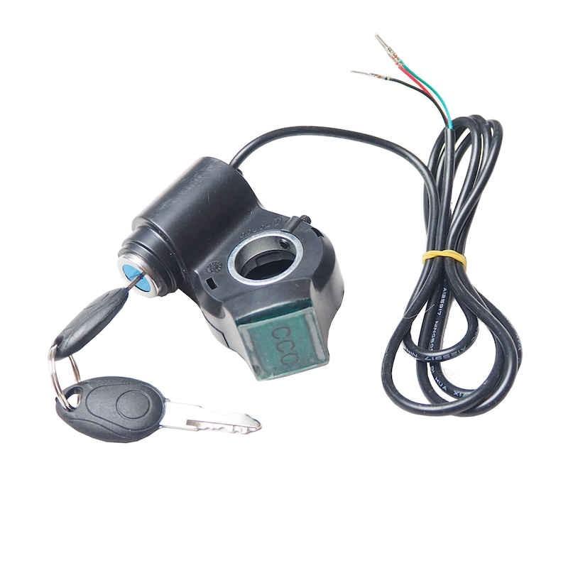 Contacteur à clé pour trottinette électrique