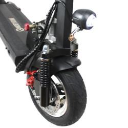Trottinette électrique Mobygum 1000 roue avant et frein à disque