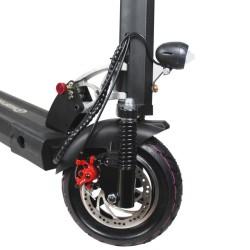 Trottinette électrique Mobygum 500 roue avant et frein à disque