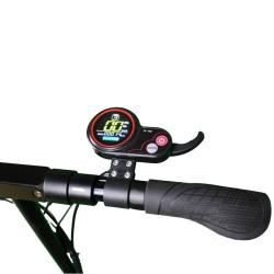 Trottinette électrique Mobygum 500 afficheur LCD vitesse et accélérateur