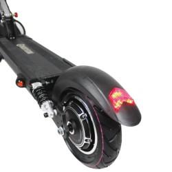Trottinette électrique Mobygum 500 roue arrière gauche avec moteur et pare boue